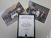 Höchster Mazda Ausbildungsrang